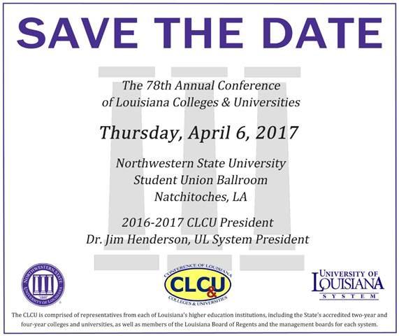 CLCU save the date